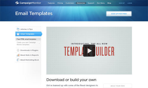 100+ free HTML email templates Campaign Monitor
